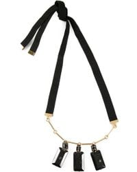 Marni Faceted Pendant Necklace - Lyst
