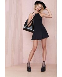 Nasty Gal After Party Vintage Sianna Dress Black - Lyst