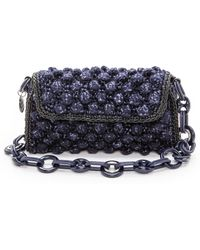 M Missoni | Boucle Knit Bag - Burgundy | Lyst