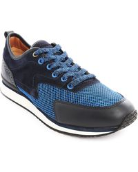 Paul & Joe Paysley Navy And Blue Sneakers - Lyst