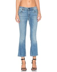 Alexander Wang - Trap Cropped Bootcut Jeans - Lyst