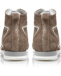 Pied A Terre Princip High Top Lace Up Shoes - Lyst