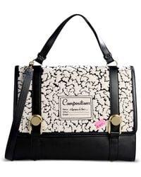 Olympia Le-Tan Medium Leather Bag black - Lyst