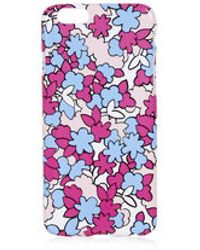 Topshop Illustrated Floral Print Iphone 6 Case - Lyst