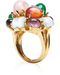 Carole Tanenbaum - S Boucher Multi-colored Cabochon Ring - Lyst