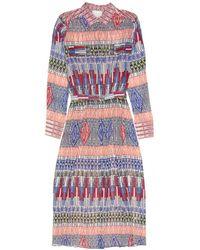 Giada Forte - Print Collared Dress - Lyst