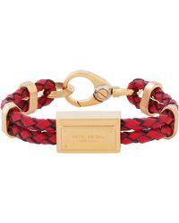 Henri Bendel Deb Leather Bracelet - Lyst