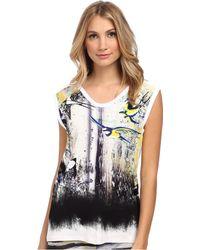 Just Cavalli tops t-shirts sleeveless tops - Lyst