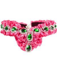 Velvet Eccentric - Right Royal Ruffle Pink - Lyst