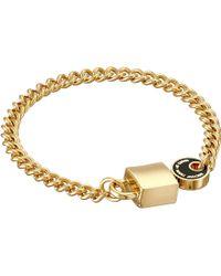 Marc By Marc Jacobs Enamel Lock-In Bracelet - Lyst