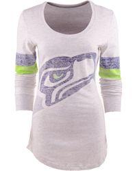 Nike Womens Long-sleeve Seattle Seahawks T-shirt - Lyst