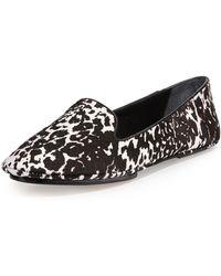Saint & Libertine Fierce Calf Hair Loafer - Lyst