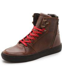 Creative Recreation Brown Adonis Sneakers - Lyst