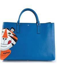 Anya Hindmarch Ebury Maxi Featherweight Frosties Tote - Lyst