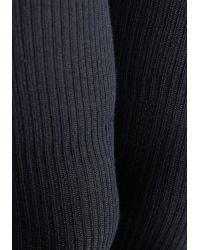 Ana Accessories Inc - All In Alcove Thigh Highs In Navy - Lyst