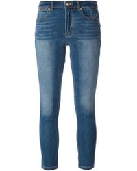 MICHAEL Michael Kors Cropped Skinny Jeans - Lyst