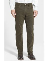 Tommy Bahama | 'twill Smith' Brushed Cotton Authentic Fit Pants | Lyst