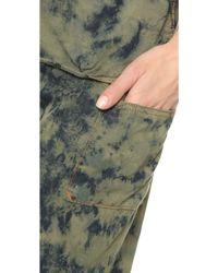 Basic Terrain - Eden Cropped Trousers - Black - Lyst