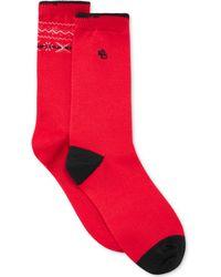 Lauren by Ralph Lauren Fairisle Trouser Socks 2 Pack - Lyst