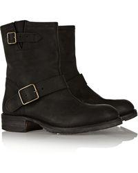 Fiorentini + Baker Bong Nubuck Boots - Lyst