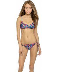 MINKPINK Candy Pop Bikini Top - Multi multicolor - Lyst
