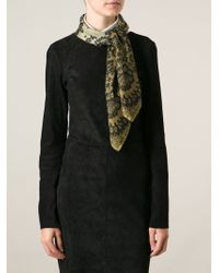 Valentino Lace Print Scarf - Lyst