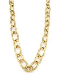 Vaubel - Hammered Link Necklace - Lyst