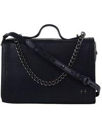 Halston Heritage Halston Chain Handle Shoulder black - Lyst