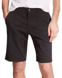 Joe's Jeans Brixton Twill Shorts black - Lyst