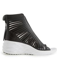 Nike - Lunarsandiator Sky Hi Zip-Up Sandals - Lyst