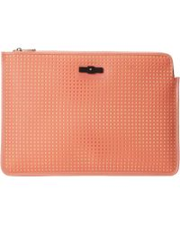 Marc By Marc Jacobs Perforated Mesh 13 Zip Cutout Case - Lyst