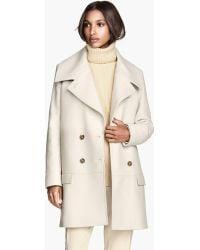 H&M Coat in A Wool Blend - Lyst