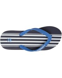 Hackett | Navy Bengal Striped Flip-flops | Lyst