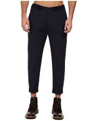 DSquared2 Runway Raw Ribbed Waistband Pant - Lyst