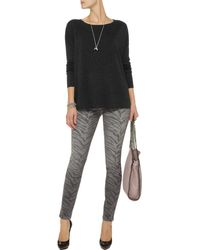Vince Wool and Cashmereblend Sweater - Lyst