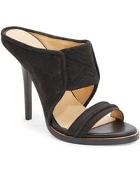 L.a.m.b. Sharon Leather Mules - Lyst