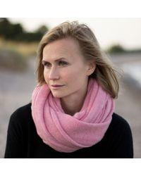 Anna Söderström - Nöitukå Scarf Pink - Lyst