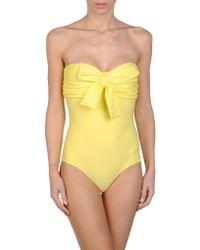 Miu Miu Onepiece Suit - Yellow