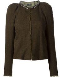 Isabel Marant Wrap Style Jacket - Lyst
