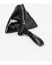 Gap Patent Triangle Coin Purse - Lyst