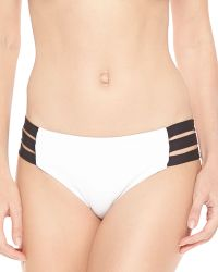 Seafolly Block Party Strappy-side Bottom - Lyst