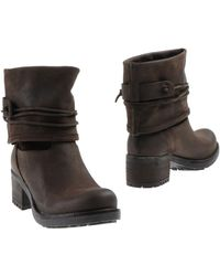 Scoop Ankle Boots - Lyst