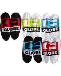 Globe - Stamped Invisible Sock 5-pack - Lyst