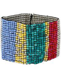 Kenneth Cole - Beaded Cuff Bracelet - Lyst