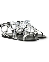 Stella McCartney Silver Lucy Star Sandals silver - Lyst