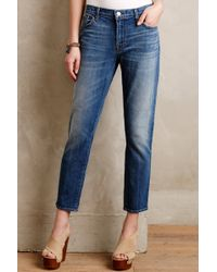 J Brand Cropped Ellis Rival Jeans - Lyst