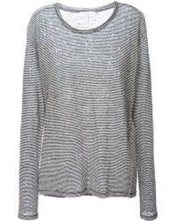 IRO 'Glaucya' Long Sleeve T-Shirt - Lyst