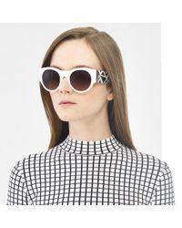 Ralph Lauren Greekkey Round Sunglasses - Lyst