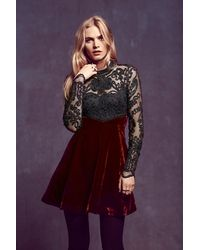 Free People Ginger Meadow Fit and Flare - Lyst