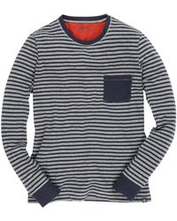 Grayers Double Cloth Stripe Pullover - Lyst